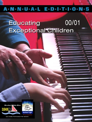 9780072365115: Annual Editions: Educating Exceptional Children 00/01 (Annual Editions)