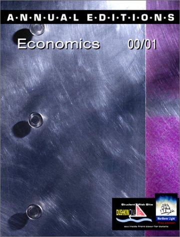 9780072365139: Annual Editions: Economics 00/01 (Annual Editions)