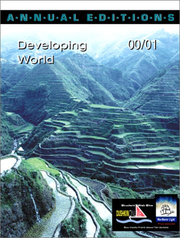 9780072365344: Annual Editions: Developing World 00/01