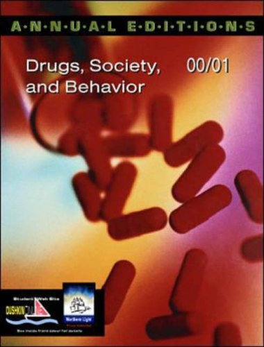 9780072365382: Annual Editions: Drugs, Society, and Behavior 00/01 (Annual Editions)