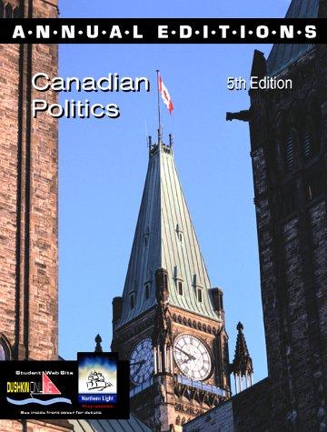9780072365573: Annual Editions: Canadian Politics
