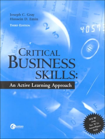 9780072367126: Critical Business Skills: An Active Learning Approach