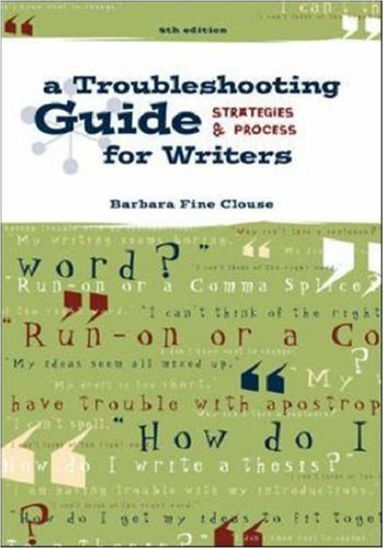 9780072367485: Working it Out: Troubleshooting Guide for Writers