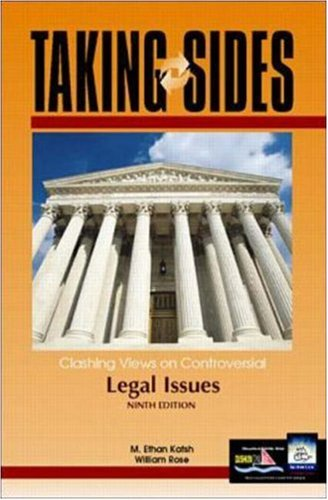 9780072371390: Taking Sides: Clashing Views on Controversial Legal Issues