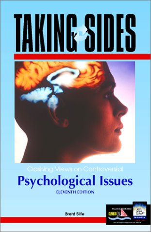 9780072371420: Taking Sides: Clashing Views on Controversial Psychological Issues (Taking Sides)