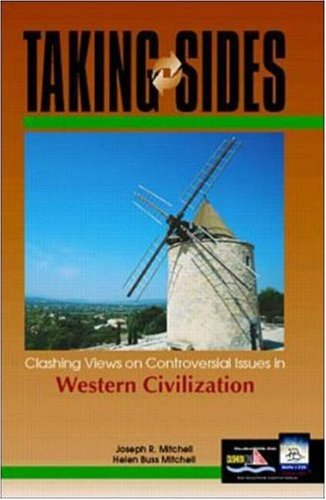 9780072371550: Taking Sides: Clashing Views on Controversial Issues in Western Civilization