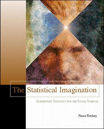 9780072371925: The Statistical Imagination (with Free Computer Applications CD-ROM and Student Version SPSS 9.0)