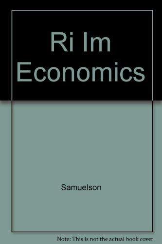 9780072372298: Ri Im Economics
