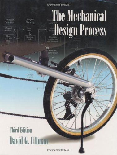 9780072373387: The Mechanical Design Process (McGraw-Hill Mechanical Engineering)