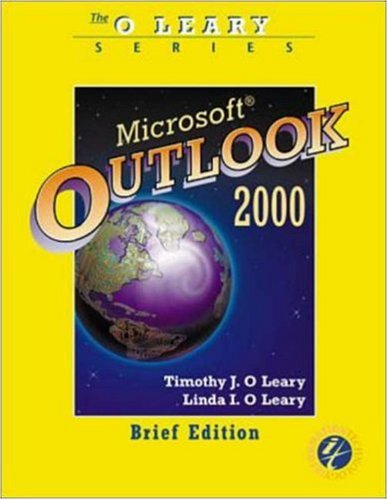 9780072374162: O'Leary Series:  Outlook 2000 Brief