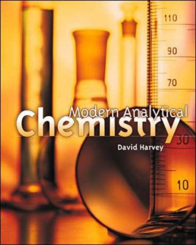 9780072375473: Modern Analytical Chemistry