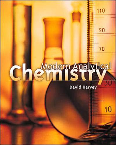 9780072375473: Modern Analytical Chemistry