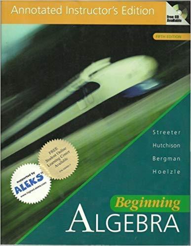 9780072377194: Beginning Algebra AIE