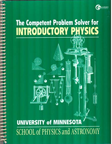 9780072377767: The Competent Problem Solver for Introductory Physics
