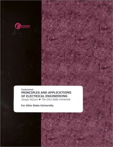 9780072378887: Customized Principles and Applications of Electrical Engineering