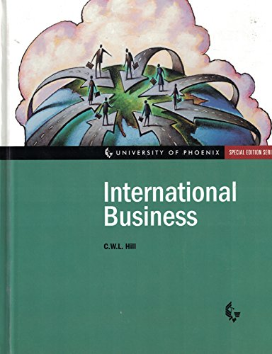 9780072380071: University of Phoenix: International Business