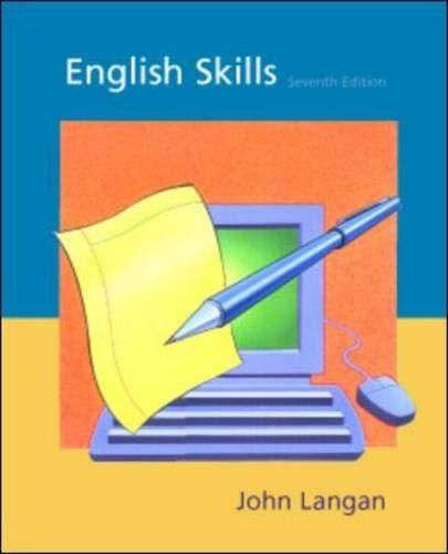 9780072381276: English Skills, SEVENTH EDITION