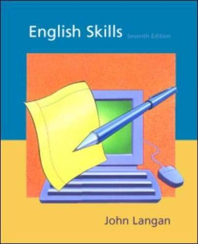 9780072381276: English Skills, SEVENTH EDITION