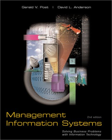 Management Information Systems: Geraid V. Post David L. Anderson