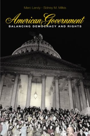 9780072383195: American Government: Balancing Democracy and Rights