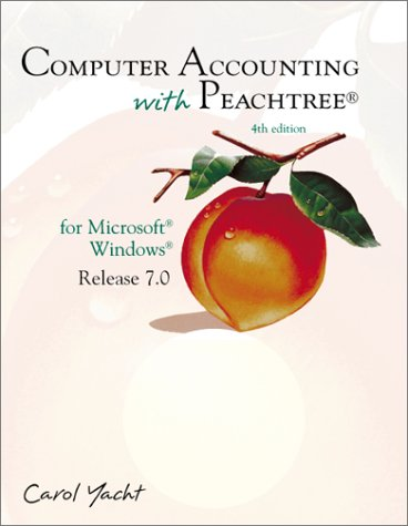 9780072383331: Computer Accounting With Peachtree: For Microsoft Windows Release 7.0