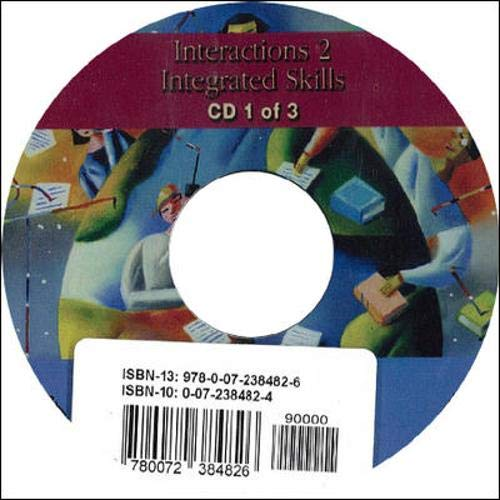 9780072384826: INTERACTIONS: INTEGRATED SKILLS PROGRAM AUDIO CD 2: High Intermediate