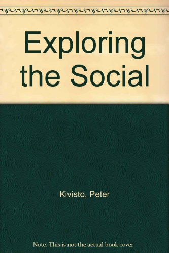 9780072386325: Exploring the Social