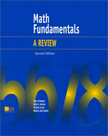 9780072386875: Math Fundamentals