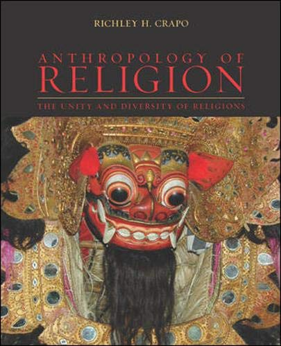 9780072387230: Anthropology of Religion: The Unity and Diversity of Religions