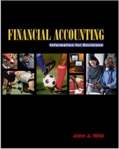 9780072388398: Financial Accounting: Information for Decisions