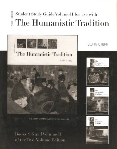 9780072388497: Study Guide (Books 4-6) for use with The Humanistic Tradition