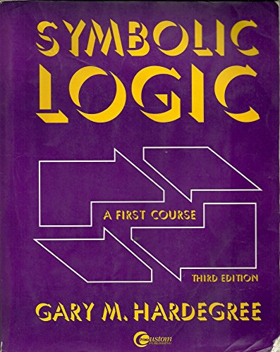 9780072390278: Symbolic Logic: A First Course