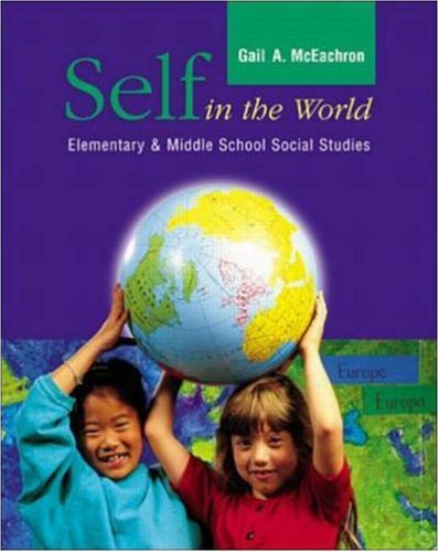 9780072390773: Self in the World: Elementary and Middle School Social Studies