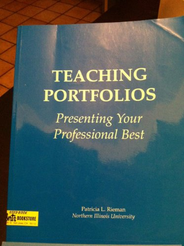 9780072390933: Teaching Portfolios: Presenting your Professional Best