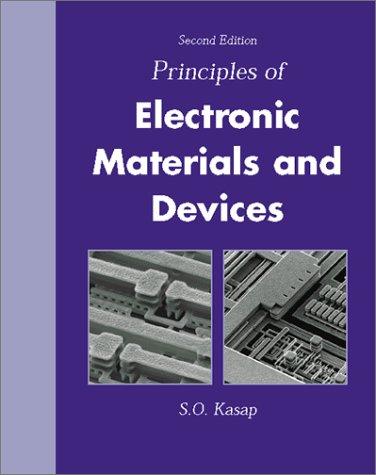 Principal Election Engineer Materials Devices: Safa O. Kasap