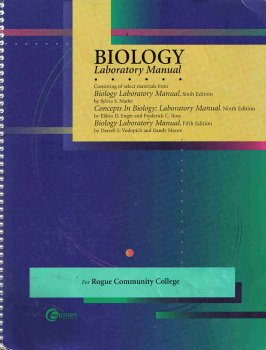 9780072394887: Biology Laboratory Manual for Rogue Community College