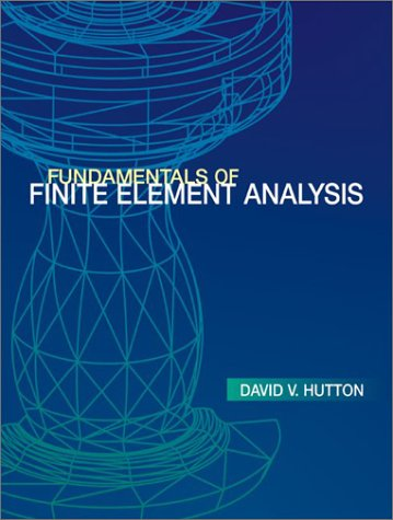 9780072395365: Fundamentals of Finite Element Analysis