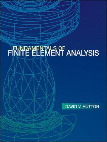 9780072395365: Fundamentals of Finite Element Analysis