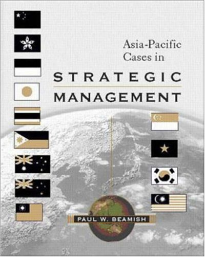 9780072395457: Asia- Pacific Cases in Strategic Management (McGraw-Hill Advanced Topics in Global Management)