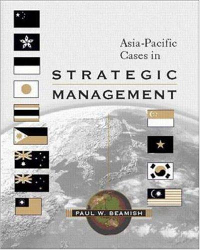 9780072395457: Asia- Pacific Cases in Strategic Management