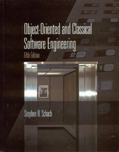 9780072395594: Object-oriented and Classical Software Engineering