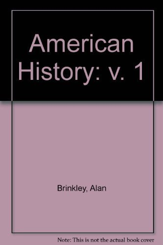 9780072396416: American History, Vol. 1: MP , 10th Edition