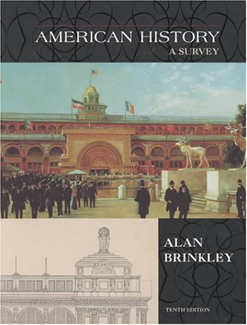 9780072396454: American History: A Survey, Vol. 2 (Student Study Manual, 10th Edition)