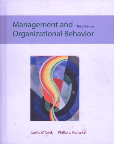 9780072396621: Management and Organizational Behavior