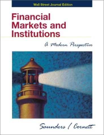 9780072397086: Wall Street Journal edition to accompany Financial Markets and Institutions