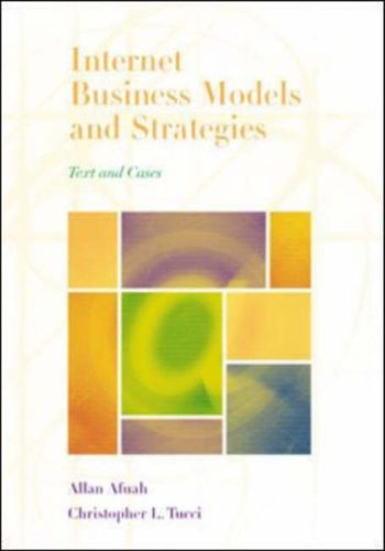 9780072397246: Internet Business Models and Strategies: Text and Cases
