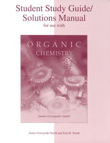 9780072397475: Student Study Guide/Solutions Manual for use with Organic Chemistry
