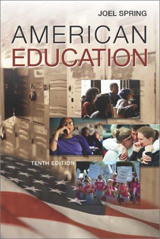 9780072397789: American Education