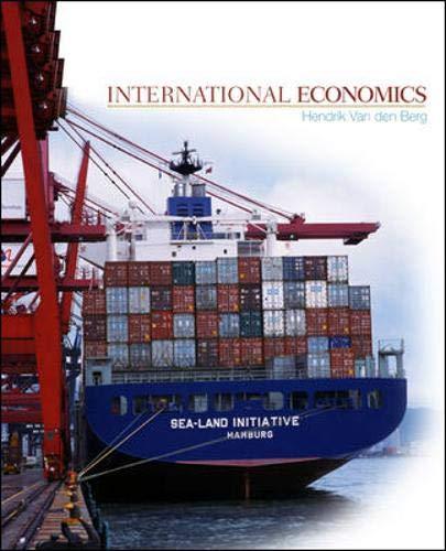 9780072397963: International Economics