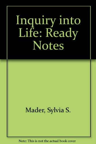 9780072398700: Inquiry into Life: Ready Notes